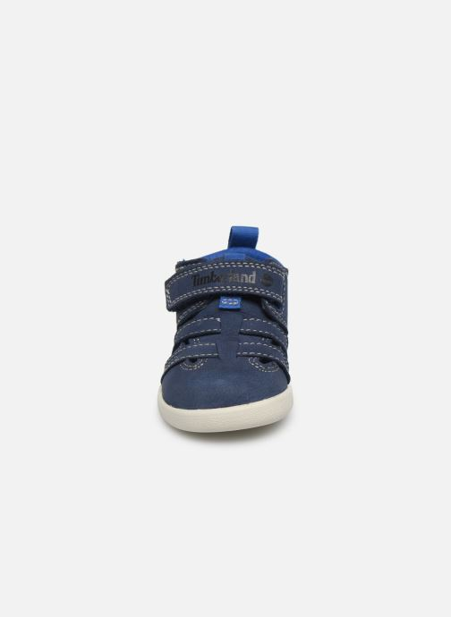 Baskets Timberland Tree Sprout Fisherman Bleu vue portées chaussures