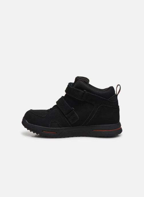 Trainers Timberland City Stomper 2 Strap Mid Black front view