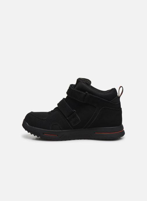 Sneakers Timberland City Stomper 2 Strap Mid Zwart voorkant