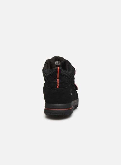 Trainers Timberland City Stomper 2 Strap Mid Black view from the right