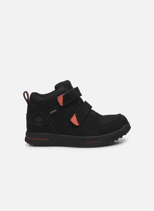 Sneakers Timberland City Stomper 2 Strap Mid Zwart achterkant