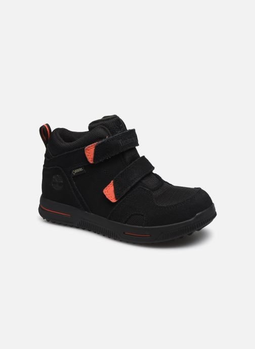 Sneakers Timberland City Stomper 2 Strap Mid Zwart detail