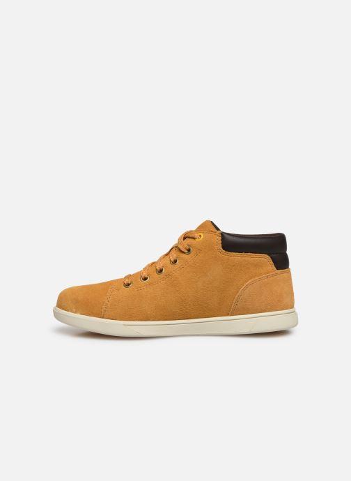 Sneakers Timberland Bayham Leather Chukka Marrone immagine frontale