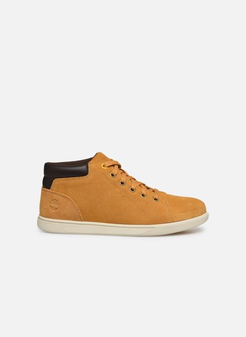 Sneakers Timberland Bayham Leather Chukka Marrone immagine posteriore