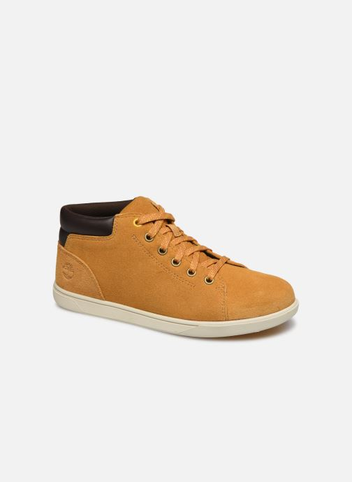 Baskets Timberland Bayham Leather Chukka Marron vue détail/paire