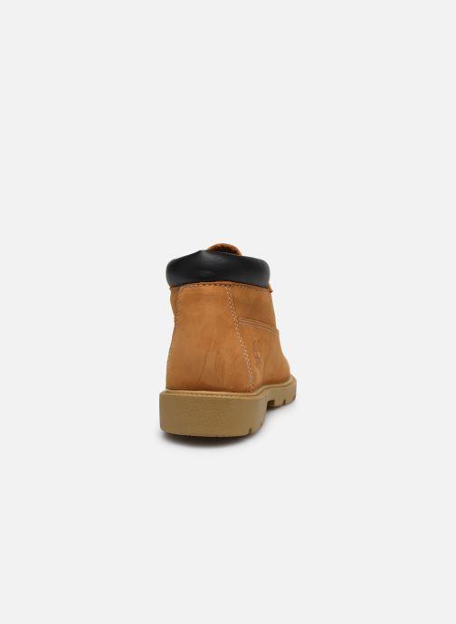 Bottines et boots Timberland Waterproof Chukka Marron vue droite