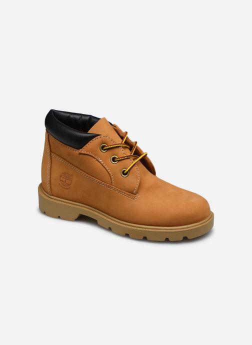 Bottines et boots Timberland Waterproof Chukka Marron vue détail/paire