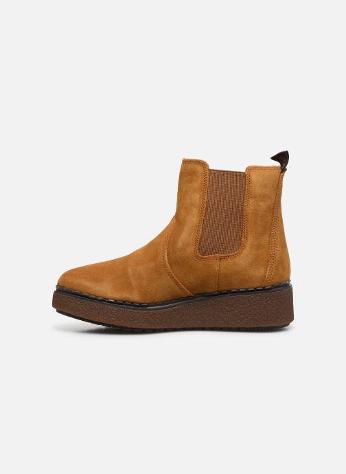 Bottines et boots Timberland Blue Bell Lane Chelsea Jaune vue face