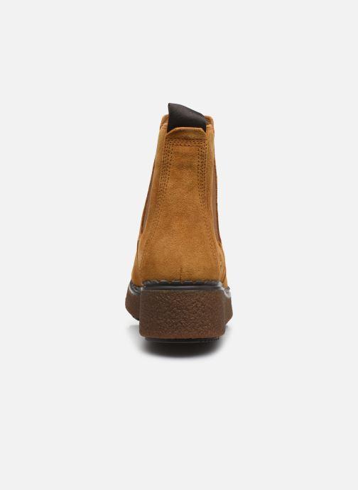 Bottines et boots Timberland Blue Bell Lane Chelsea Jaune vue droite