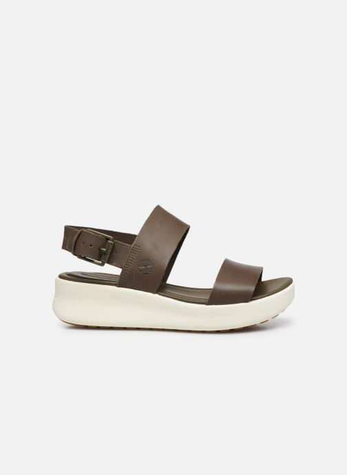 Sandals Timberland Los Angeles Wind 2 Bands Sandal Brown back view