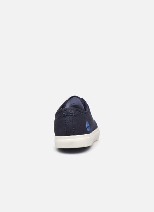 Trainers Timberland Newport Bay Ox Blue view from the right
