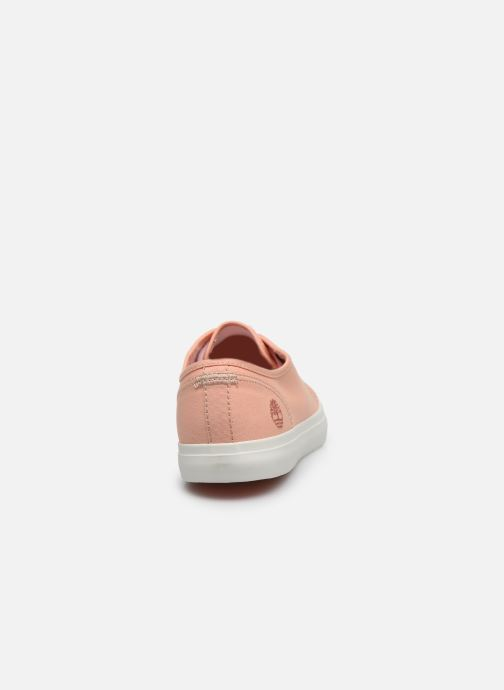 Trainers Timberland Newport Bay Ox Pink view from the right