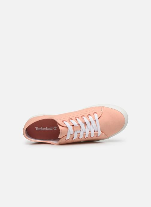 Trainers Timberland Newport Bay Ox Pink view from the left