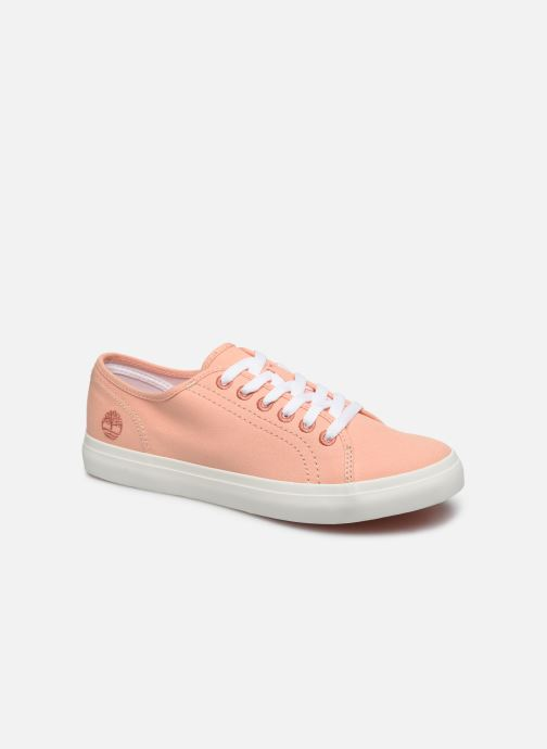Trainers Timberland Newport Bay Ox Pink detailed view/ Pair view