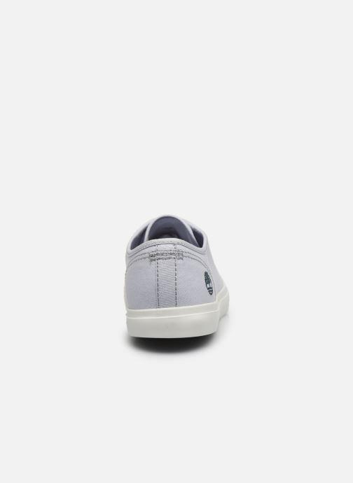 Sneakers Timberland Newport Bay Ox Azzurro immagine destra