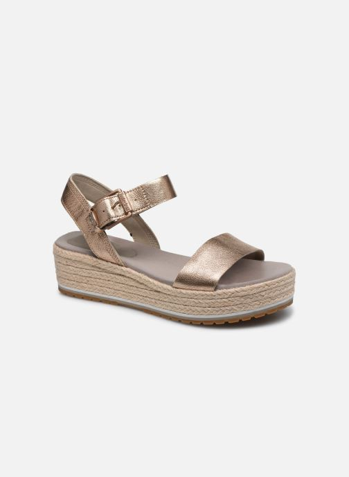 Sandals Timberland Santorini Sun Ankle Pink detailed view/ Pair view