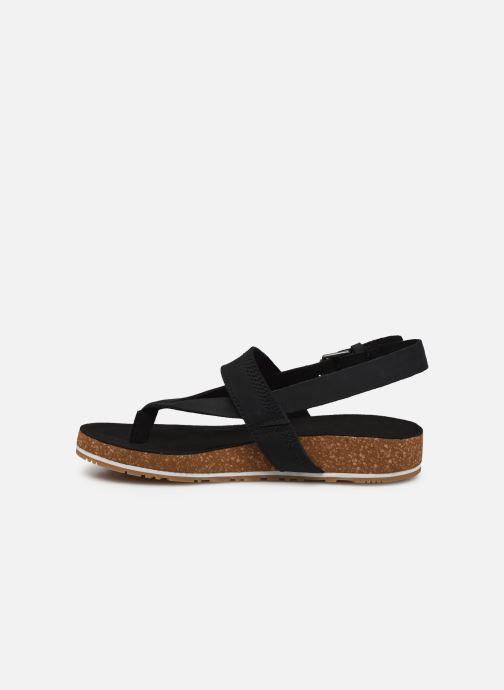 Sandales et nu-pieds Timberland Malibu Waves Thong Noir vue face