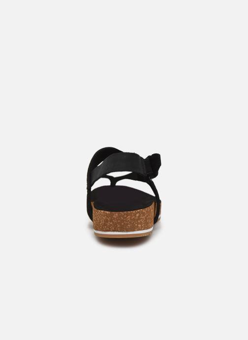 Sandales et nu-pieds Timberland Malibu Waves Thong Noir vue droite