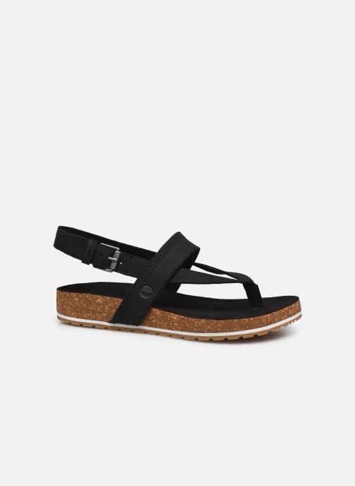 Sandales et nu-pieds Timberland Malibu Waves Thong Noir vue derrière