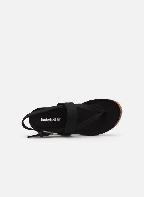Sandales et nu-pieds Timberland Malibu Waves Thong Noir vue gauche