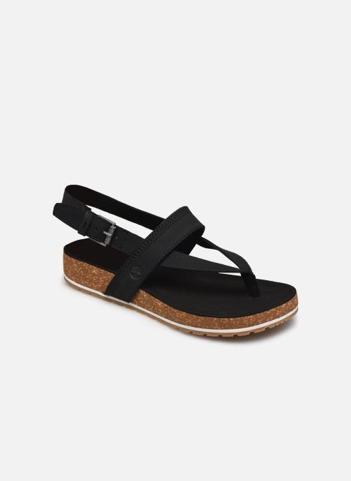 Sandales et nu-pieds Timberland Malibu Waves Thong Noir vue détail/paire