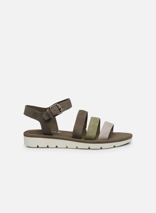 Sandales et nu-pieds Timberland Lottie Lou 3-Band Sandal Marron vue derrière