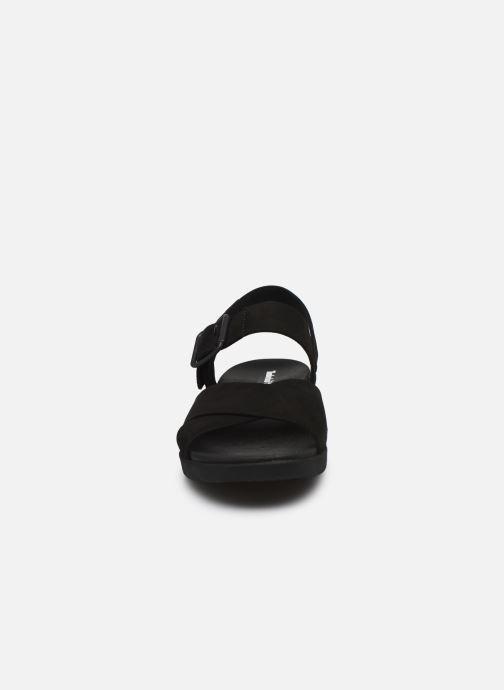 Sandales et nu-pieds Timberland Wilesport Leather Sandal Noir vue portées chaussures