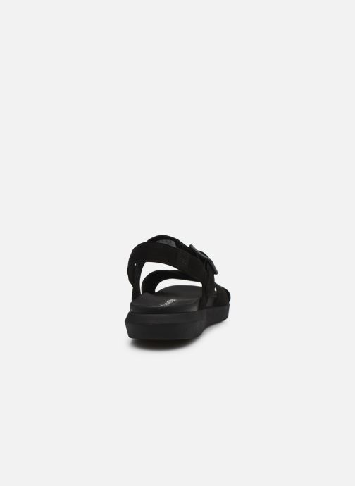 Sandals Timberland Wilesport Leather Sandal Black view from the right