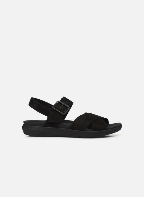 Sandales et nu-pieds Timberland Wilesport Leather Sandal Noir vue derrière