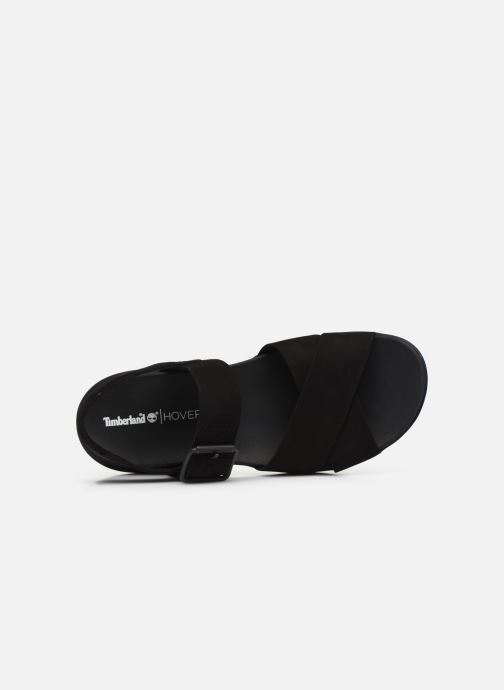 Sandals Timberland Wilesport Leather Sandal Black view from the left