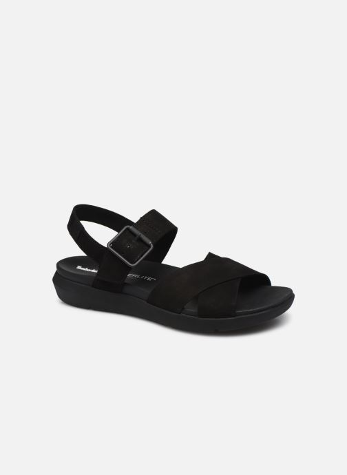 Sandals Timberland Wilesport Leather Sandal Black detailed view/ Pair view