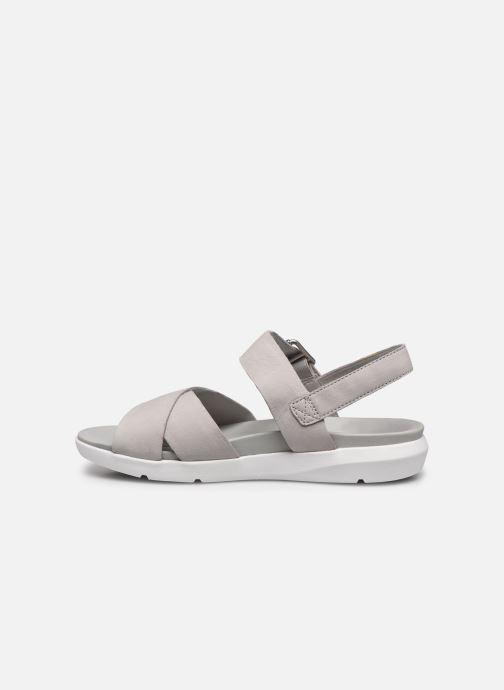Sandalen Timberland Wilesport Leather Sandal grau ansicht von vorne