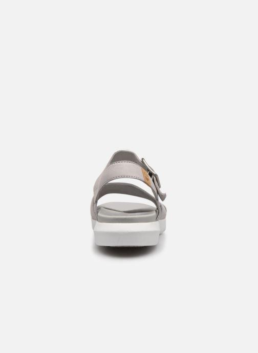 Sandalen Timberland Wilesport Leather Sandal grau ansicht von rechts