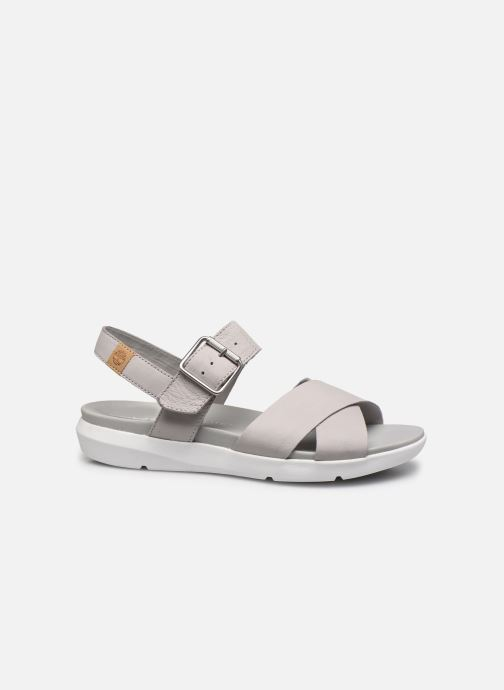 Sandales et nu-pieds Timberland Wilesport Leather Sandal Gris vue derrière