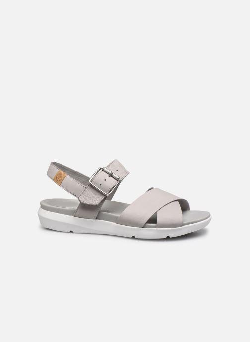 Sandali e scarpe aperte Timberland Wilesport Leather Sandal Grigio immagine posteriore