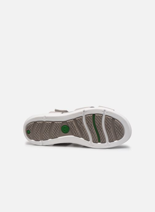 Sandalen Timberland Wilesport Leather Sandal Grijs boven