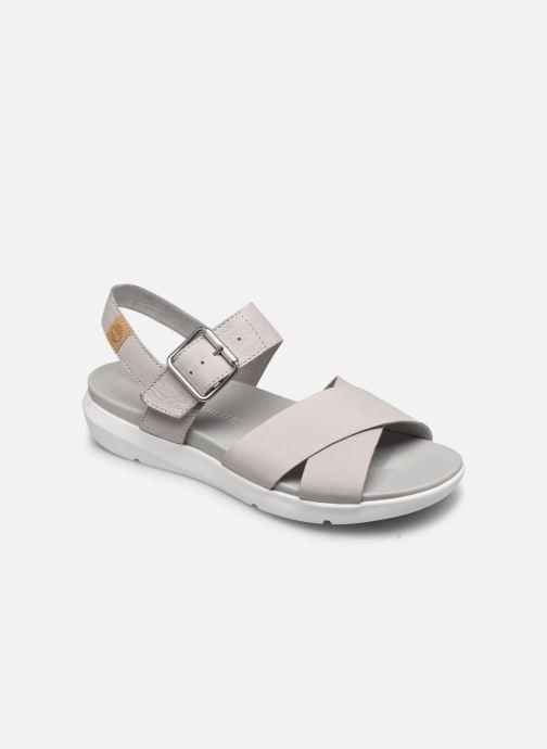 Sandales et nu-pieds Timberland Wilesport Leather Sandal Gris vue détail/paire