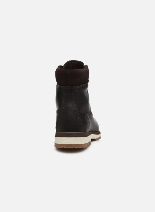 Bottines et boots Timberland Radford 6 D-Ring Boot WP Marron vue droite