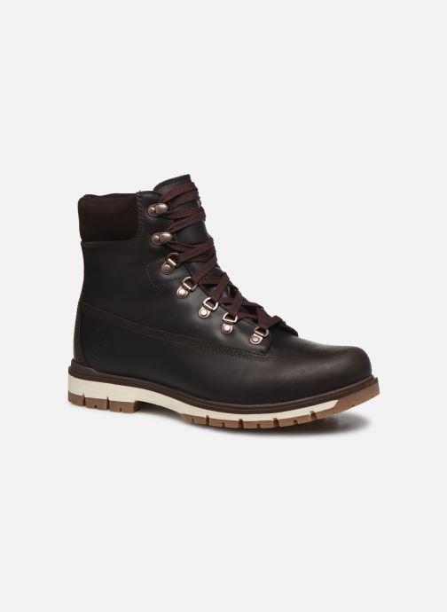 Bottines et boots Timberland Radford 6 D-Ring Boot WP Marron vue détail/paire