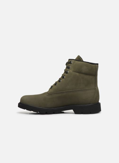 Bottines et boots Timberland 6 in Basic Boot-noncontrast collar WP Vert vue face