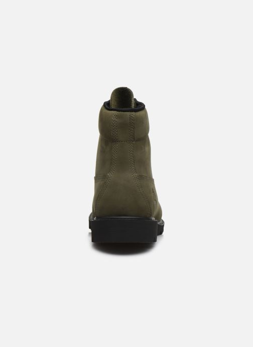 Botines  Timberland 6 in Basic Boot-noncontrast collar WP Verde vista lateral derecha