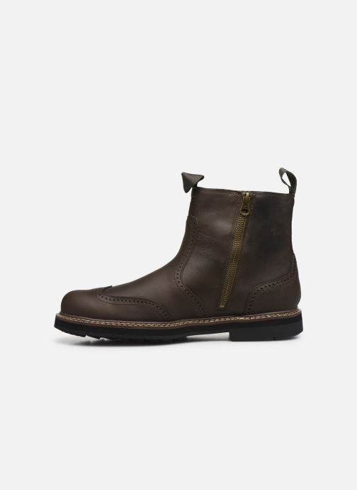 Bottines et boots Timberland Squall Canyon WT Pull On WP Chelsea Marron vue face