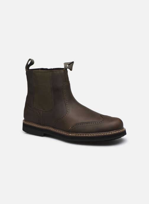 Boots en enkellaarsjes Timberland Squall Canyon WT Pull On WP Chelsea Bruin detail