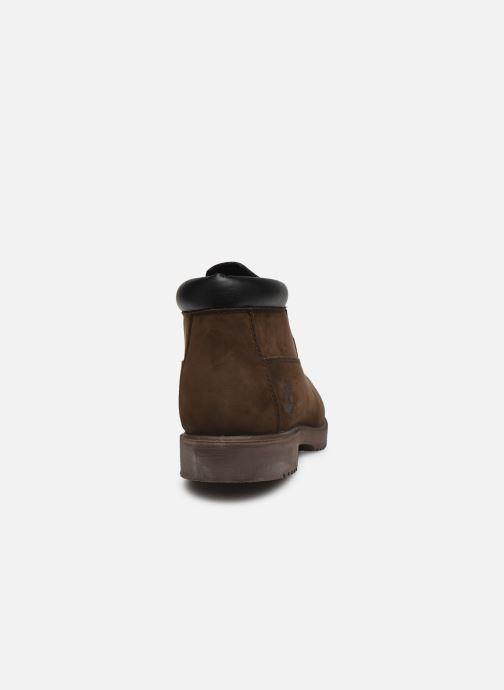 Bottines et boots Timberland TBL 1973 Newman Premium Chukka WP Marron vue droite