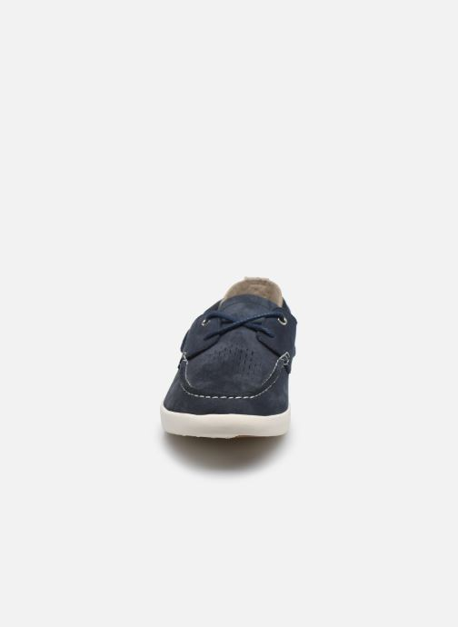 Lace-up shoes Timberland Project Better Boat Shoe Blue model view