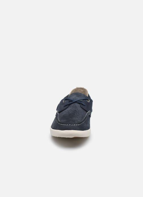 Chaussures à lacets Timberland Project Better Boat Shoe Bleu vue portées chaussures