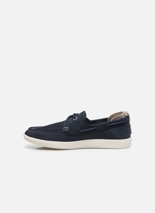 Lace-up shoes Timberland Project Better Boat Shoe Blue front view