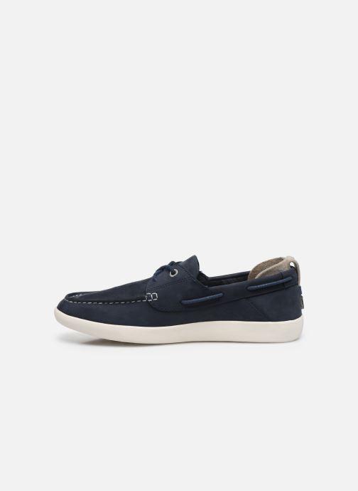 Chaussures à lacets Timberland Project Better Boat Shoe Bleu vue face