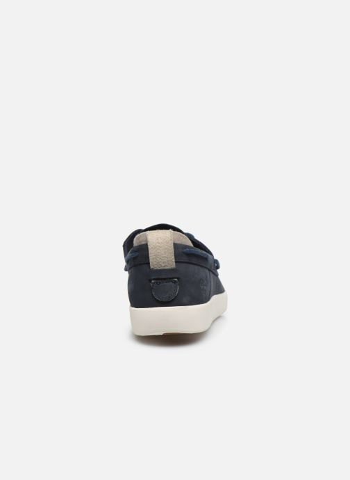 Lace-up shoes Timberland Project Better Boat Shoe Blue view from the right