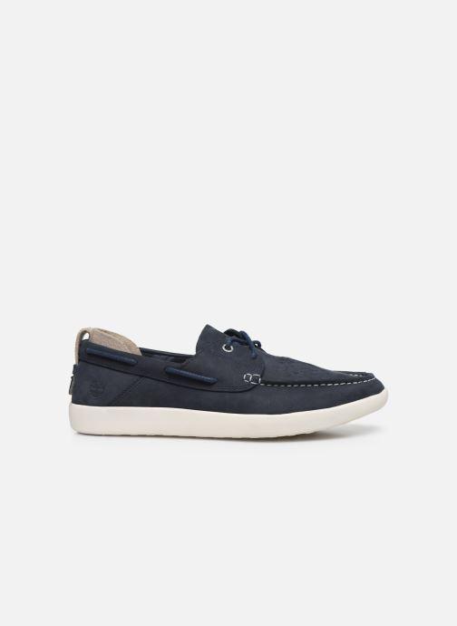 Chaussures à lacets Timberland Project Better Boat Shoe Bleu vue derrière
